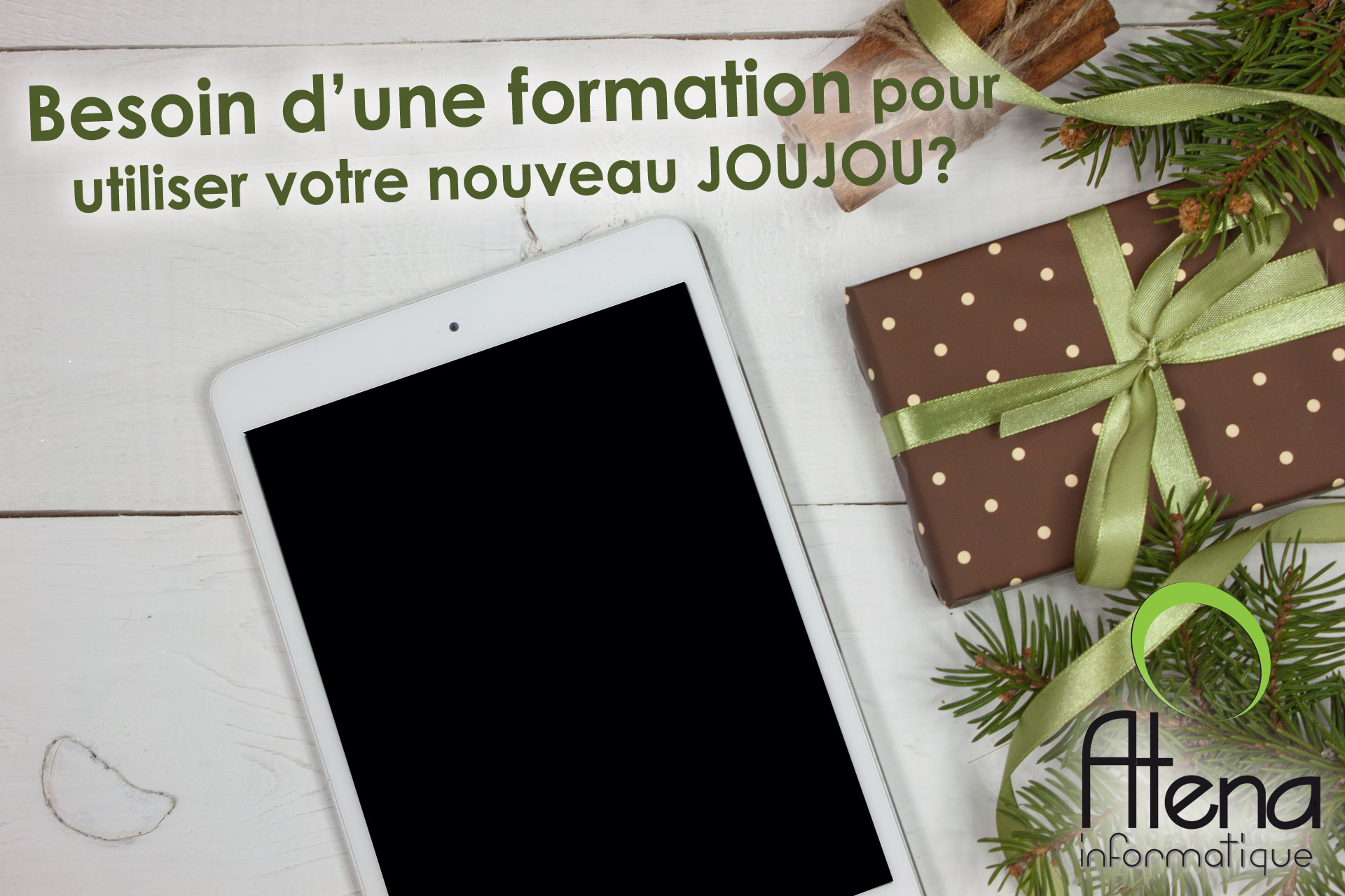 MONTAGE FORMATION TABLETTE FETES